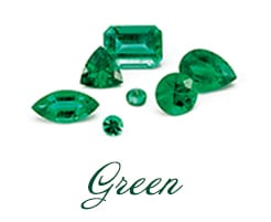 Green Gemstone Jewelry